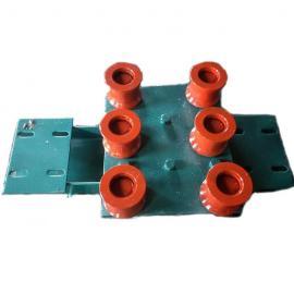 组合托绳轮组JWB30WJ矿用无极绳调速机械绞车配件平托轮