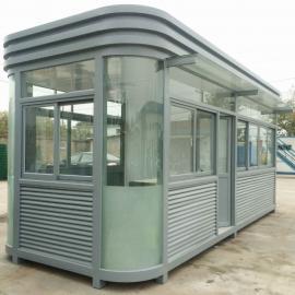 绿华 钢结构传达室岗亭成品值班活动房现货 LH-GT