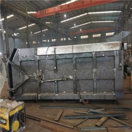 全封闭养殖场脱水猪粪运输车12吨禽畜粪污运输车