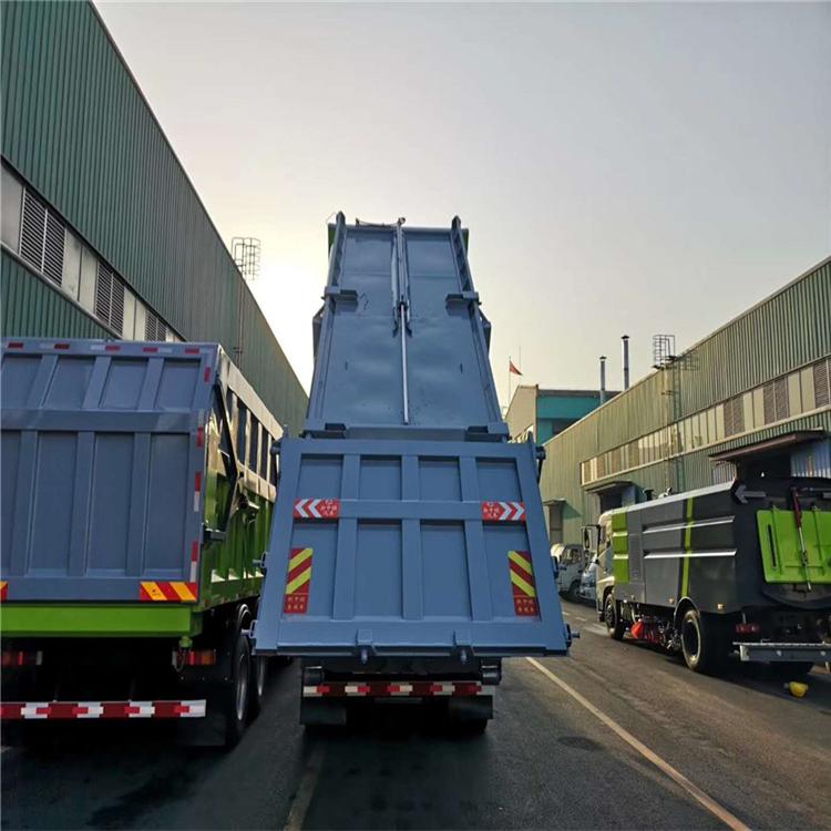 20方污泥车 20方勾臂式污泥自卸车 参数尺寸说明