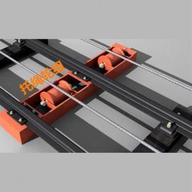 SQ80B无极绳绞车配置弹簧主副压绳轮组 托绳轮组导向轮尾轮