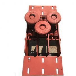 无极绳绞车SQ60-05B梭车绳衬歪轮尾轮托绳轮主副压绳轮组