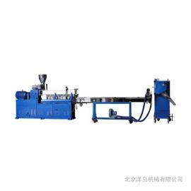 水冷拉条冷切单螺杆造粒机. SJ65 泽岛机械