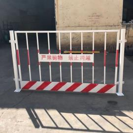 澜润 建筑工地安全警示围栏 井口电梯口护栏网 Q235