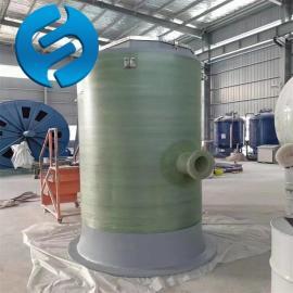 兰江 玻璃钢一体化预制泵站型号 雨水预制泵站