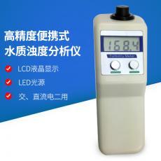 陆恒 便携式浊度检测仪�@水处理浊度计自来水厂浊度分析仪泳池浑浊度 WGZ-1B