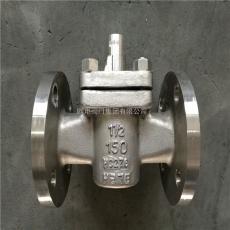 OD HC276哈氏合金旋塞阀 HC276-X43F-150LB