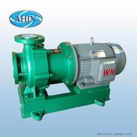 江南(AHJN)江南氟塑料磁力泵 化�W�液�送泵CMB32-20-200