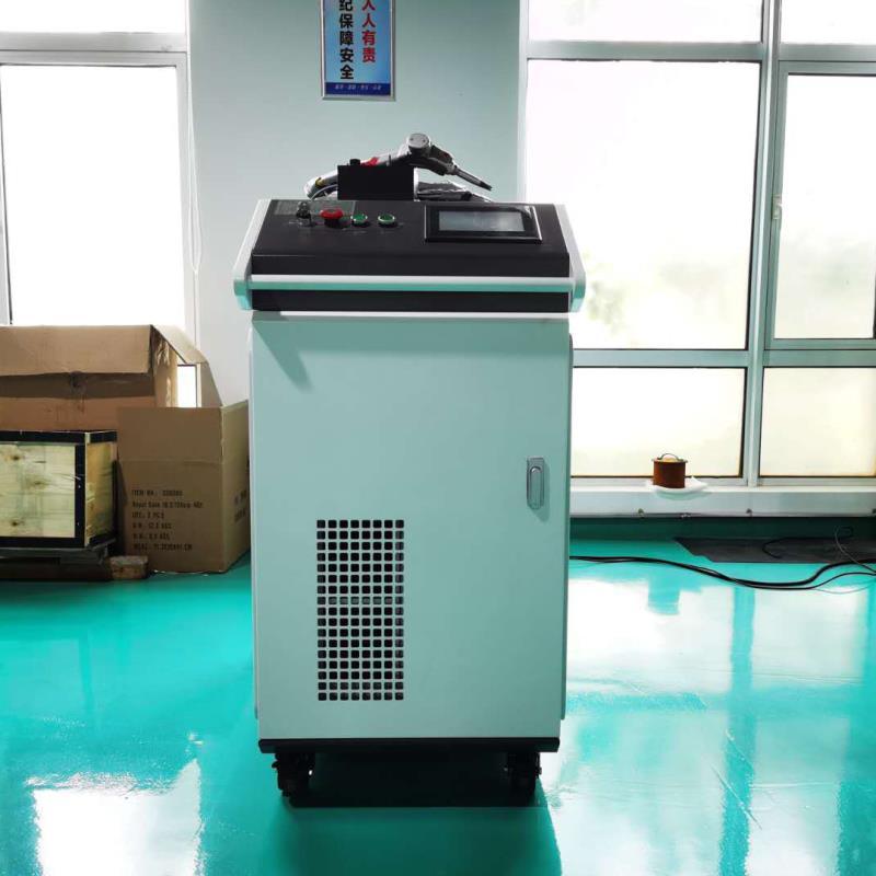 力捷科激光LJK-1000W手持式激光焊接机 护栏/广告字激光焊接