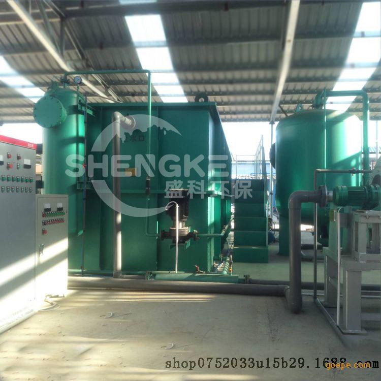 盛科环保装备屠宰污水处理成套设备屠宰废水达标处理免费指导安装调试TZ