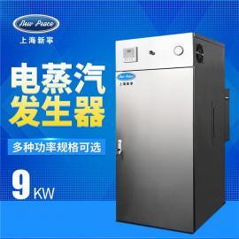 新宁 蒸发量12公斤,功率9千瓦电锅炉电加热蒸汽发生器 LDR0.013-0.7