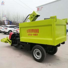 圣泰猪场小型清粪车热卖 牛羊粪便清理车构造QF-2