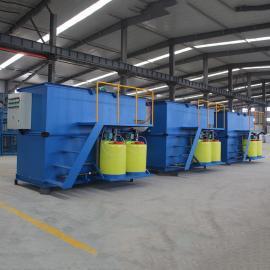 山水环保高效浅层气浮装置 污水处理气浮机溶气罐 溶气气浮机气浮池图片SKRQF-05