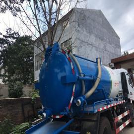 东风 ERT698DXC55 5吨蓝牌吸污车管道疏通清理污水