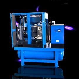 空压机储气罐冷干机一体凌格风一体式空压机LS7.5TM DD