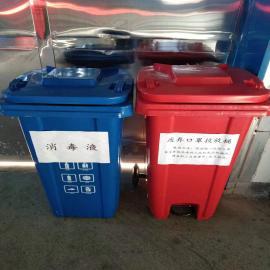 易顺小区分类垃圾桶、果皮箱