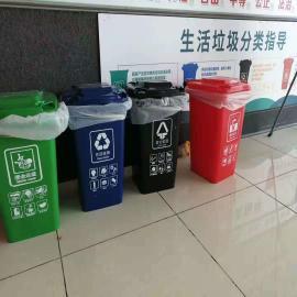 小区四分类垃圾桶-果皮箱