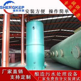 盛科环保装备 酿造废水处理成套设备啤酒葡萄酒污水达标处理免费指导安装调试 SKNZ