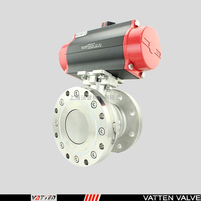 卫生级放料阀食品级气动罐底阀-反应釜底阀应用VATTENVT2WDB33A