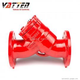 VATTEN不锈钢法兰Y型过滤器VTYLQ-10P