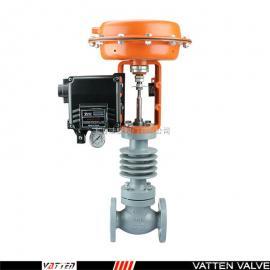 VATTEN 气动薄膜调节阀 不锈钢单座