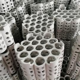 焦化�硫塔用全瓷多孔�M合�h或�p瓷�整填料 科隆牌