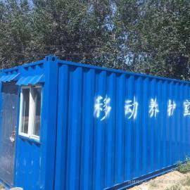 流动式集装箱标养室/移动养护室