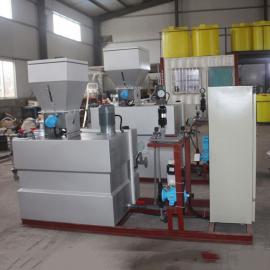 山水环保 干粉投加及溶液制备装置简介 pacpam自动溶解投加加药设备原理 SQB-3000