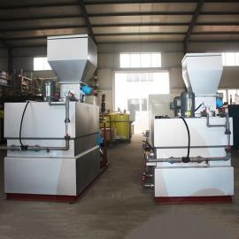 山水环保 絮凝剂干粉加药装置日加药量 全自动石灰干粉投加装置工艺流程 SQB-1000
