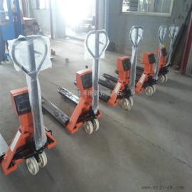 佳禾衡器碳钢材质电子拖车秤,3T/1kg手动液压叉车磅秤SCS-JH