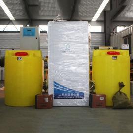 山水环保 电解法二氧化氯发生器加药标准 二氧化氯发生投加器作用原理 50-500g/H