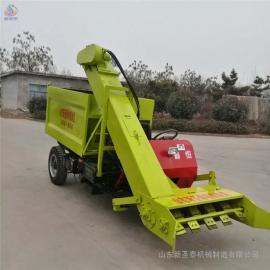 圣泰羊粪全自动清粪车图片 大型猪粪铲粪车 三包售后QF-2