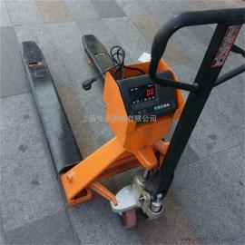 佳禾衡器手动液压搬运电子秤,1T/0.5kg碳钢材质叉车磅秤SCS