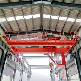 润德QD50/10t双梁桥式起重机 吊钩式双梁行车 室内双轨航吊