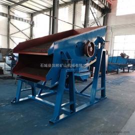 SZZ-1500*3000 国邦 震动式筛沙机 大型电动滚筒筛选机 全自动高效沙石分离设备