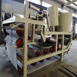 百思特带式压滤机 污水处理厂污泥脱水设备dyl-1500
