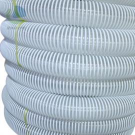 �R克斯 PVC塑筋螺旋�管 �A筋管 吸�m管 PVC排水管 可定制方筋 LKE720