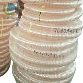 �R克斯 PU��z�管 �叩剀�吸�m管 陶瓷�C械下料管 耐磨�管 LKE503
