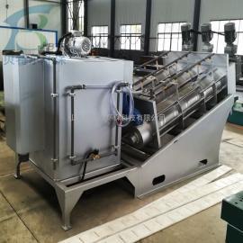 贝特尔生产叠螺式污泥脱水机 养殖场生化污泥处理设备 品质优BDL