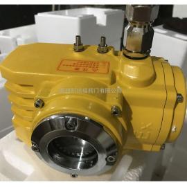 科锐福阀门精小型防爆电动执行器 扭矩到4000N 配蝶球阀开关调节KRFZB60