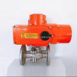 科锐福阀门断电复位型电动执行器 集成一体机 带电池或带弹簧 配蝶阀球阀KRFZDD80