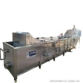 BM 连续式漂烫机 鸭制品蒸煮卤煮流水线设备 4500