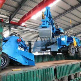 九天买轮胎式扒渣机就到矿业 好品质效率高LWT-150
