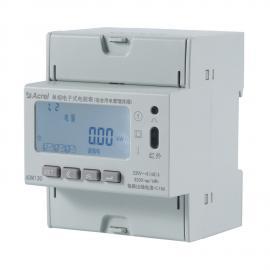 安科瑞宿舍夜间小功率识别电力仪表 三路分别计量ADM130