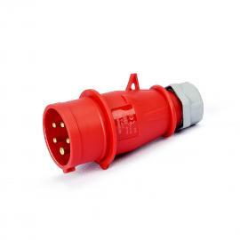 上曼电气 三相380V五极16A-6h防水IP44航空工业插头 TYP:3