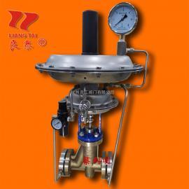良泰衬氟不锈钢带指挥器供氮阀ZZYVPF-16B