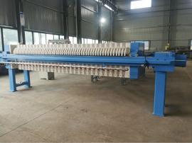 誉开 洗沙污泥脱水压滤机250平方 污水处理自动保压压滤机