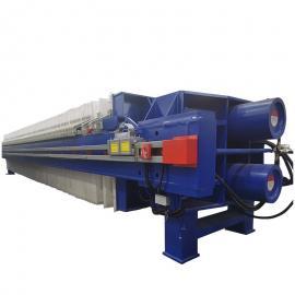 誉开 洗沙污泥脱水压滤机400平方 污水处理自动保压压滤机