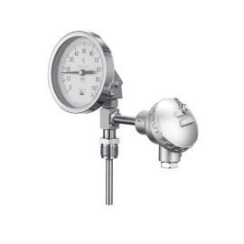 锦宏带电阻远传双金属温度计 温度仪表可定制WSSP