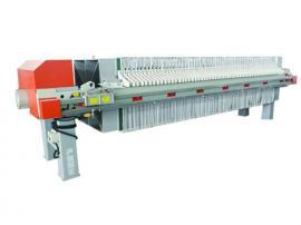 誉开 洗沙污泥脱水压滤机 污水处理自动保压压滤机